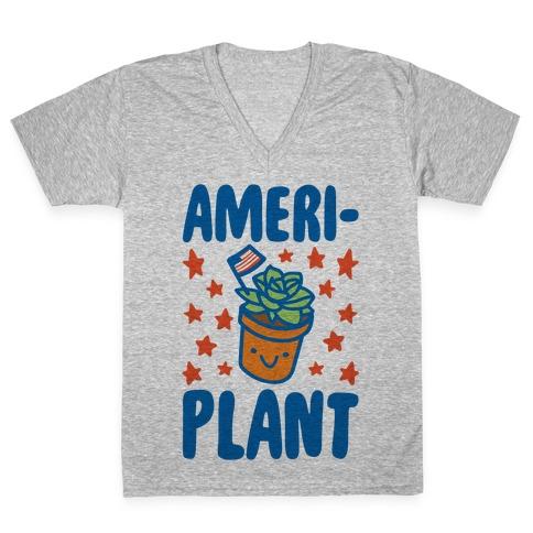 Ameriplant  V-Neck Tee Shirt
