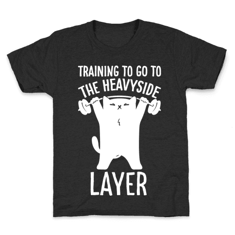 Training To Go To The Heavyside Layer Parody White Print Kids T-Shirt