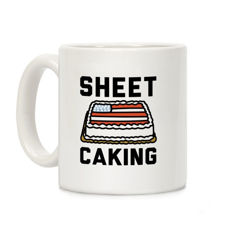 Sheet Caking Coffee Mug