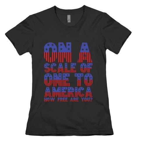 AMERICA! Womens T-Shirt