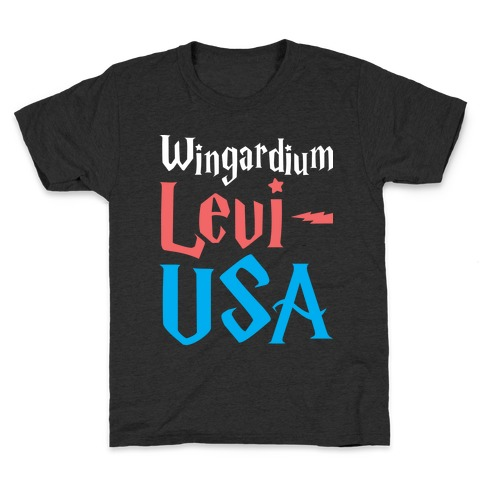 Wingardium Levi-USA Kids T-Shirt