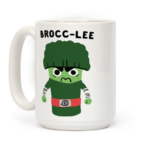 Brocc-Lee - Rock Lee Coffee Mug