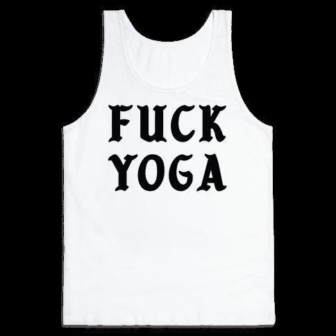 F*** Yoga Tank Top