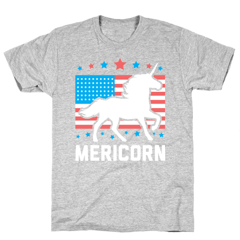 Mericorn Mens T-Shirt