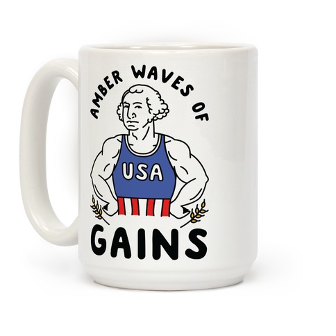 Amber Waves Of Gains Coffee Mug
