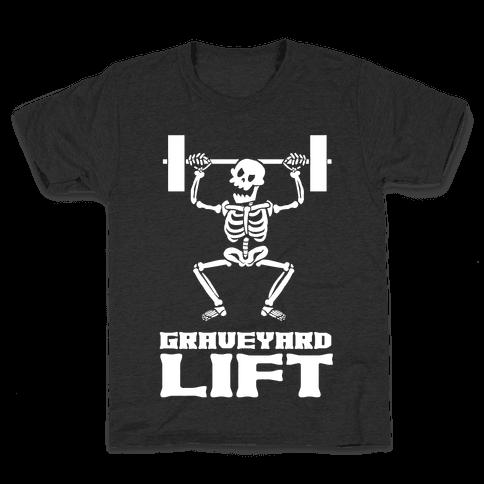 Graveyard Lift Kids T-Shirt