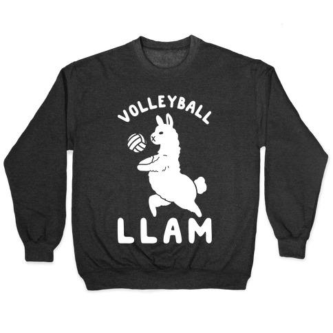 Volleyball Llam Pullover