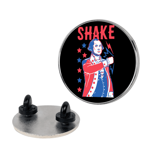 Shake & Bake: George Washington pin