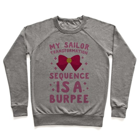 My Sailor Transformation Sequence is a Burpee Pullover