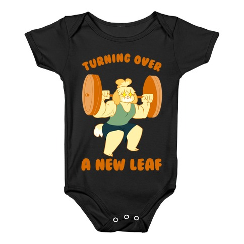 Isabelle Squats Baby Onesy