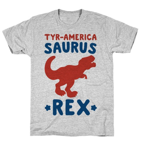 Tyr-America-Saurus Rex Parody T-Shirt