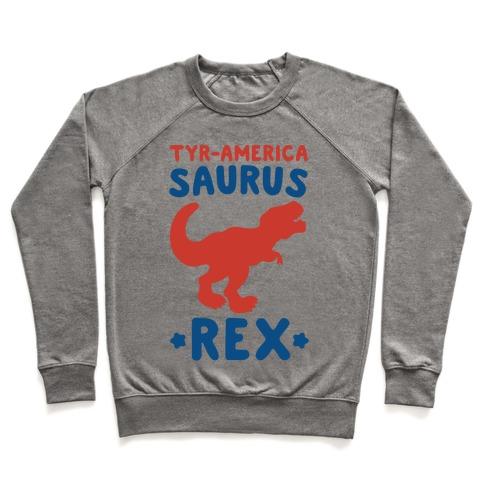 Tyr-America-Saurus Rex Parody Pullover