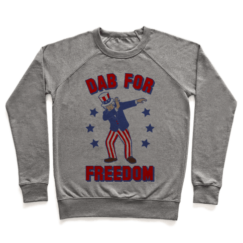 DAB FOR FREEDOM Pullover