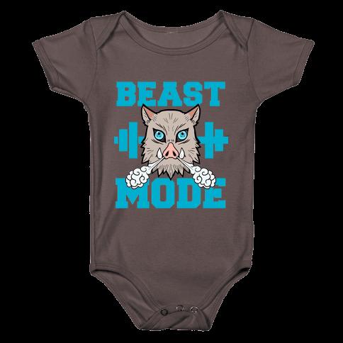 Beast Mode Inosuke Baby One-Piece