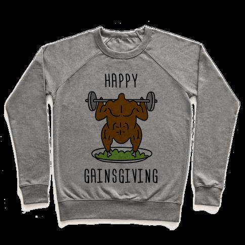 Happy Gainsgiving Pullover