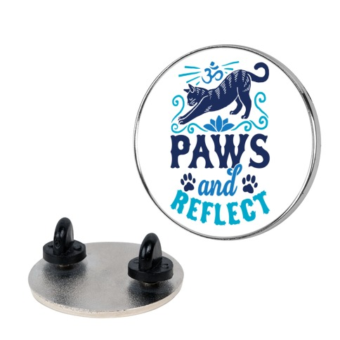Paws And Reflect (Cat) Pin