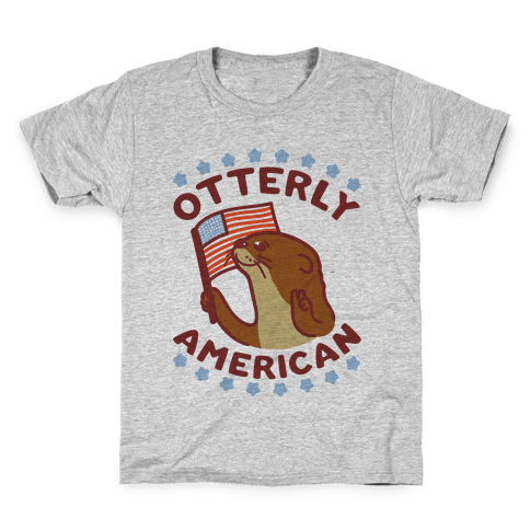 Otterly American Kids T-Shirt