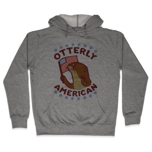 Otterly American Hooded Sweatshirt
