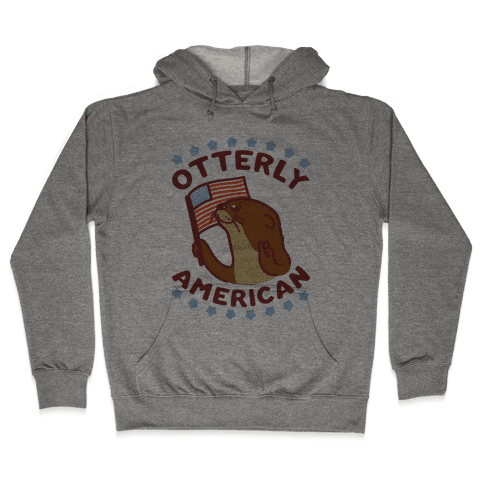 Otterly American Hooded Sweatshirt