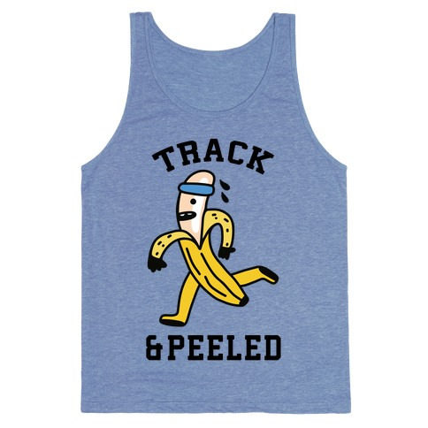 Track & Peeled Tank Top
