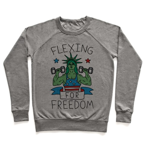 Flexing For Freedom Pullover