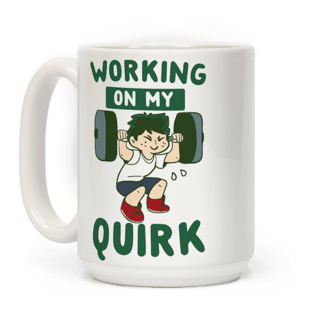 Working On My Quirk - Deku  Coffee Mug