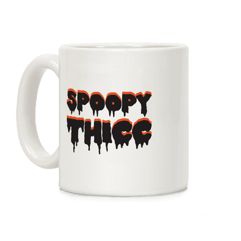 Spoopy Thicc Coffee Mug