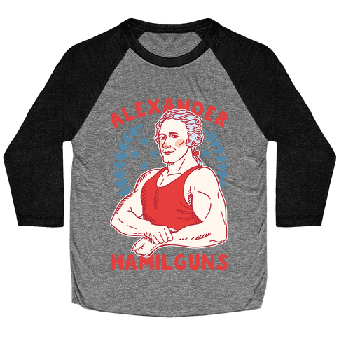 Alexander HamilGUNS Baseball Tee