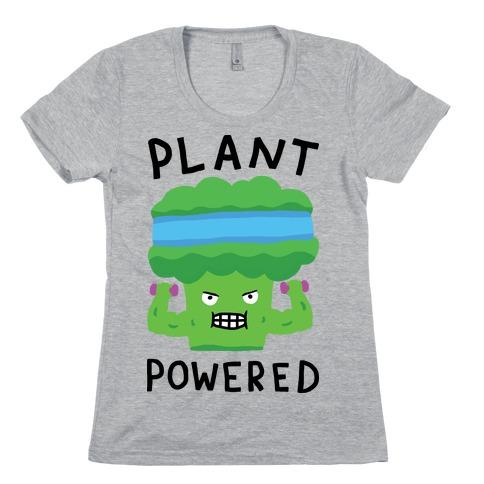 Plant Powered Womens T-Shirt