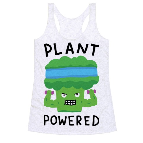 Plant Powered Racerback Tank Top