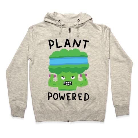 Plant Powered Zip Hoodie