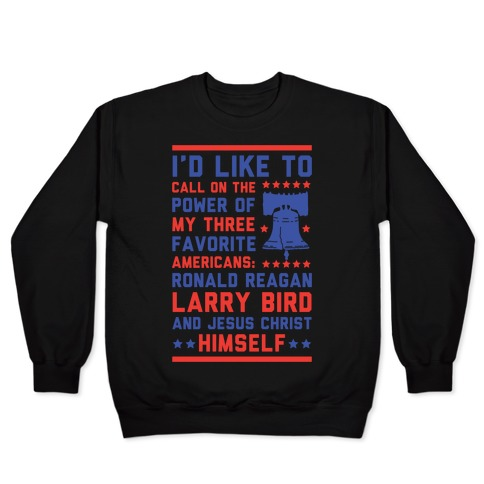 My Three Favorite Americans Pullover