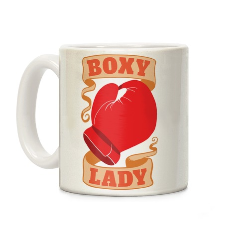 Boxy Lady Coffee Mug