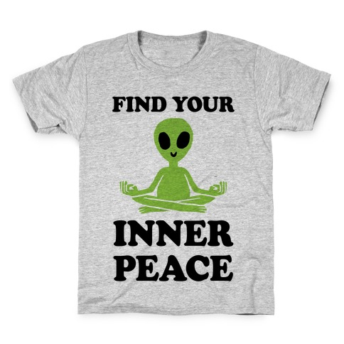 Find Your Inner Peace Kids T-Shirt