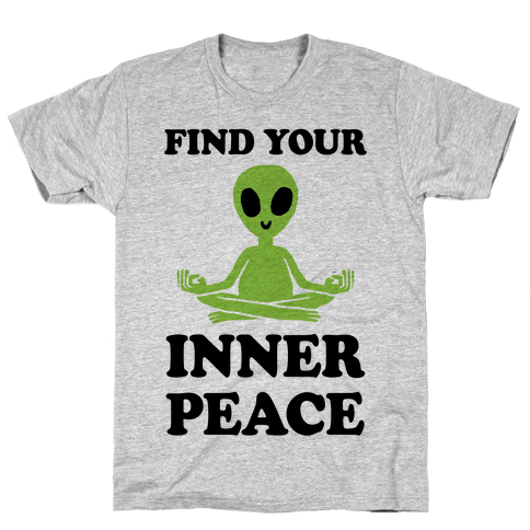 Find Your Inner Peace Mens T-Shirt