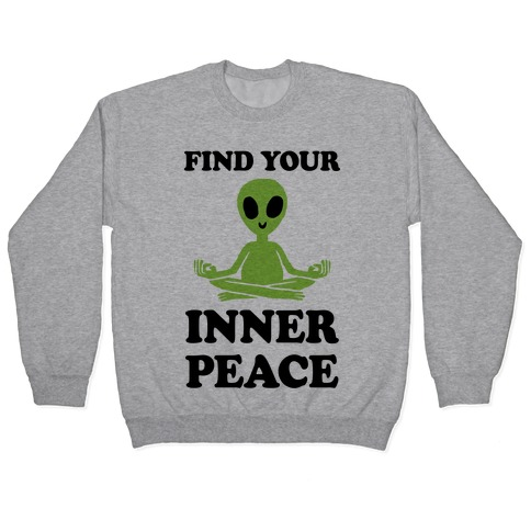 Find Your Inner Peace Pullover