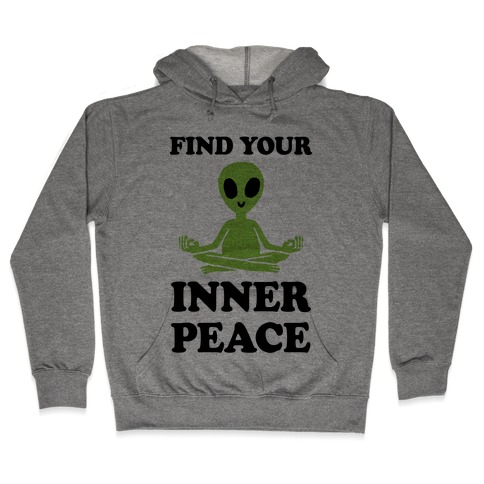 Find Your Inner Peace Hooded Sweatshirt