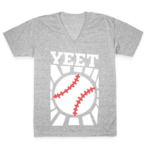 YEET - baseball V-Neck Tee Shirt