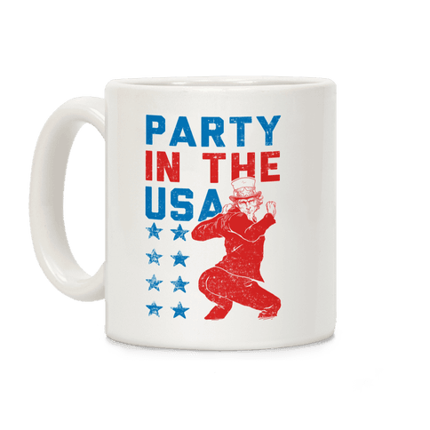 Party In The USA Uncle Sam Coffee Mug