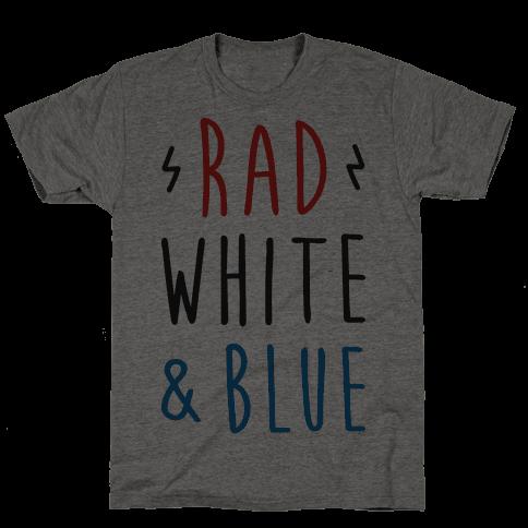 Rad White & Blue