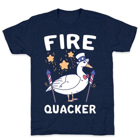 Fire Quacker  T-Shirt