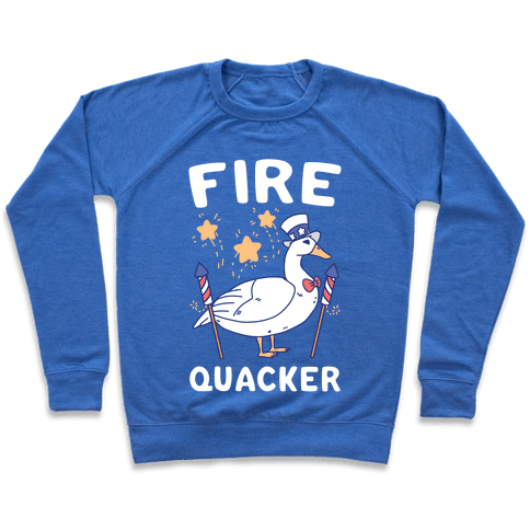 Fire Quacker  Pullover