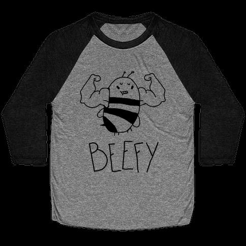 Beefy Baseball Tee