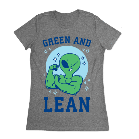 Green and Lean Womens T-Shirt