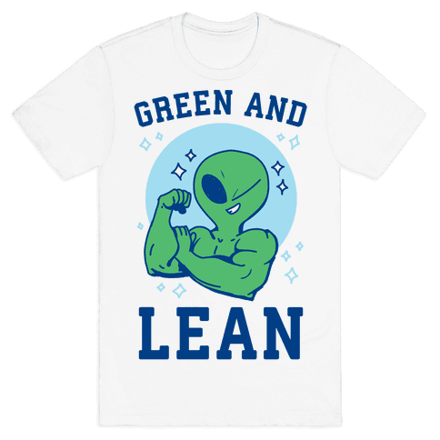 Green and Lean Mens/Unisex T-Shirt