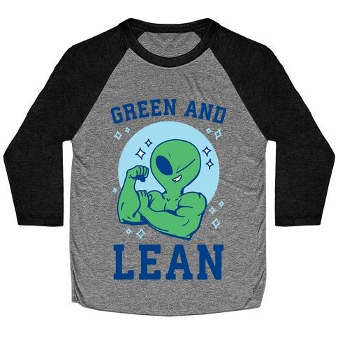 Green and Lean Baseball Tee