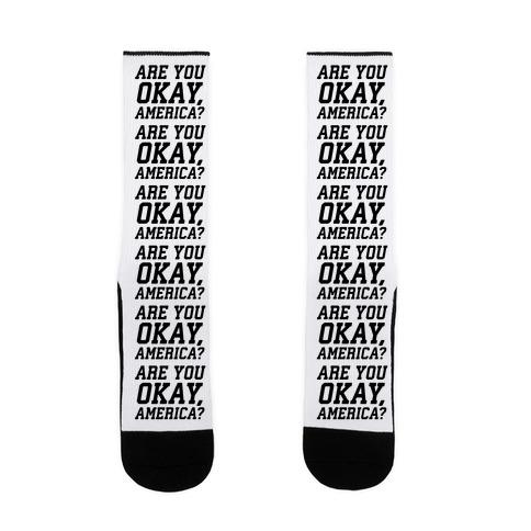 Are You Okay, America? Sock