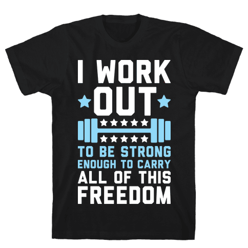 Carry All Of This Freedom Mens T-Shirt