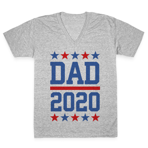 DAD 2020 V-Neck Tee Shirt
