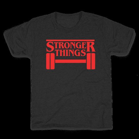 Stronger Things Kids T-Shirt